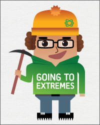 Going to Extremes Logo